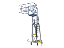 The GREEN Portable Platform (PAL100) | Adjustable, Self-supporting Access Units for Tank Trucks or Railcars