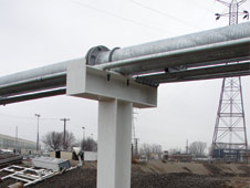 GREEN Pipe Racks / Pipe Supports | Custom Engineered to Fit Your Specific Pipe Protection Needs