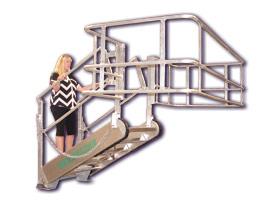 Custom designed Truck & Rail Car access Gangways by GREEN