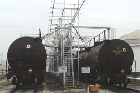 Railcar Loading Solutions | GREEN Access & Fall Protection | Ohio | 440-934-2180