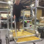 Gangway Flat Ramp by Benko Products' Green Manufacturing