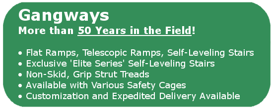 GREENLINE Gangways & Safety Cages | 50 Year Trusted History | USA Made!