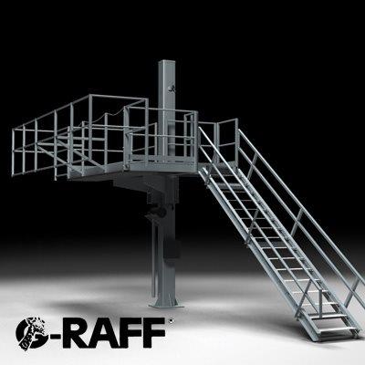 G-Raff Elevating Platform for All Tank Trucks & Bulk Rail