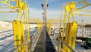 Railcar Loading Platforms   Access Platforms for Railcars by GREEN