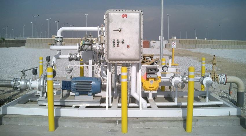 Skid Systems | Skid Pump Systems by GREEN - GREEN Access & Fall