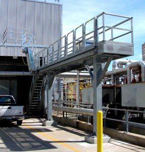 Truck Loading Racks Access Platforms for Tank Trucks