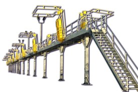 Loading Access & Fall Protection Solutions for Rail Cars