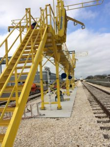 2017 Railcar Access Platforms by GREEN Mfg. #205