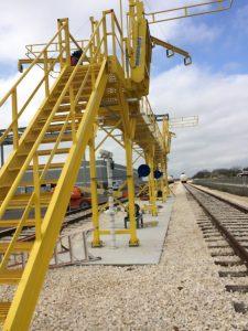 2017 Railcar Access Platforms by GREEN Mfg. #205