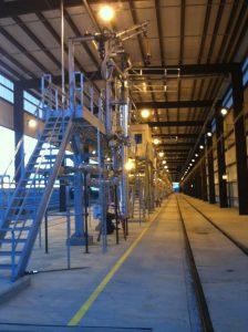 2017 Railcar Access Platforms by GREEN Mfg. #208