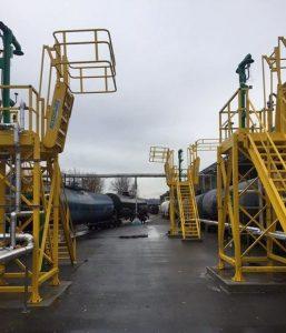 GREENLINE Railcar Loading Platforms