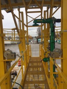 Worker Safe Tank Truck Loading by GREEN Access & Fall Protection