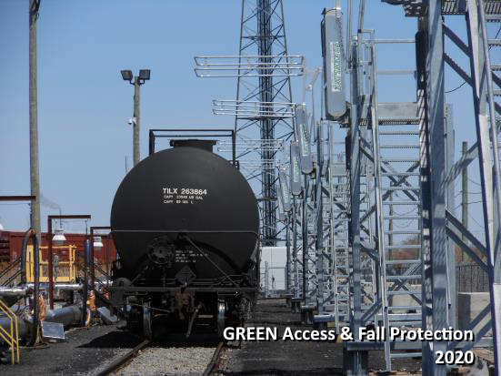 Complex Integrated Railcar & Truck Loading System