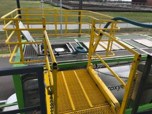Gangway with Enclosure | GREEN Access & Fall Protection