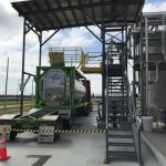Safe Access System for Overseas Shipping Containers