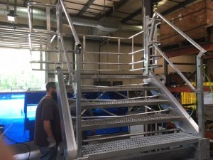 Safety Stairs Gangway | GREEN Access & Fall Protection
